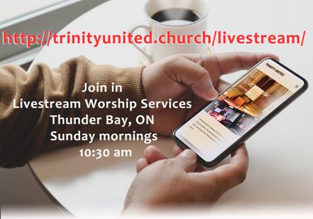 Join in at live stream worship services