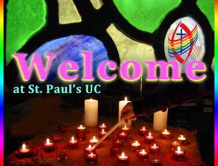 Welcome at st. Paul's UC